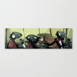 weired collection 04 (zombies) Canvas Print