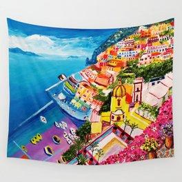 Beautiful Vernazza Wall Tapestry