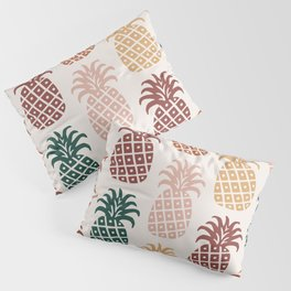 Retro Mid Century Modern Pineapple Pattern 477 Pillow Sham
