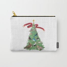 The Twelve Birds of Christmas Carry-All Pouch