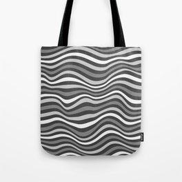 GrayWaving Tote Bag