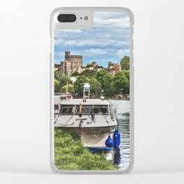 Over The Thames To Windsor Clear iPhone Case