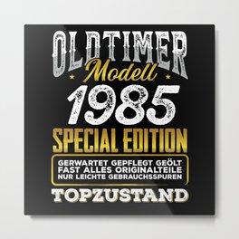 Classic car modell 1985 Metal Print