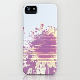 Vanishing summer iPhone Case