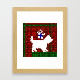 Yorkshire Wrapping Framed Art Print