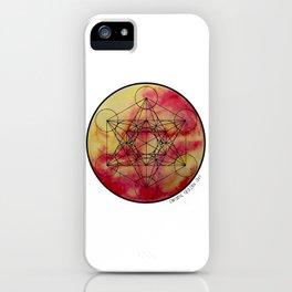 Solara Metatron iPhone Case