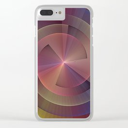 Wheel of Happiness Clear iPhone Case