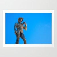 Il David // Florence, Italy Art Print