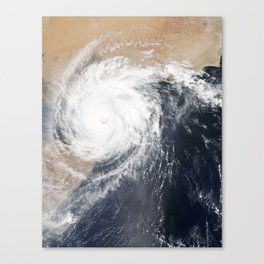Tropical Cyclone Chapala Over the Gulf of Aden Canvas Print