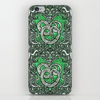 slytherin iPhone & iPod Skins featuring Slytherin by Cryptovolans
