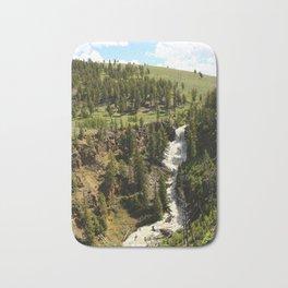 Undine Falls Yellowstone N P Bath Mat