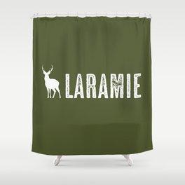 Deer: Laramie, Wyoming Shower Curtain