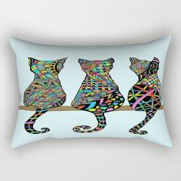 Three Amigos Rectangular Pillow