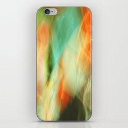 Abstract Art II Blue/Black/Green/Red iPhone Skin