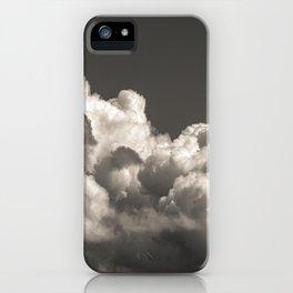 B&W CLOUD iPhone Case