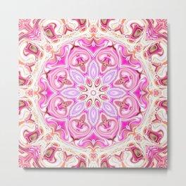 Star Flower of Symmetry 744 Metal Print