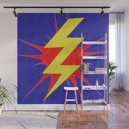Lightning Bolt Wall Mural