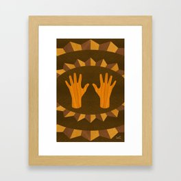The ASL Marquetry - (ASL Marquetry Series) Framed Art Print