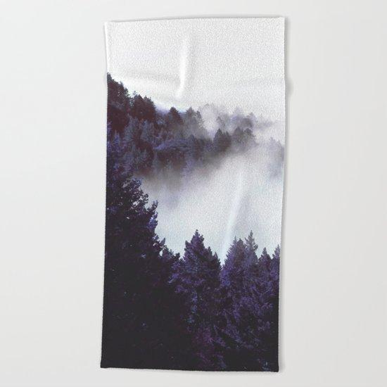 Mystery Fog #society6 #decor #buyart Beach Towel
