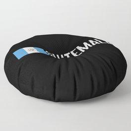 Guatemalan Flag & Guatemala Floor Pillow