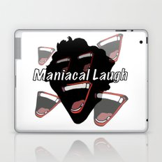 Maniacal Laugh Laptop & iPad Skin