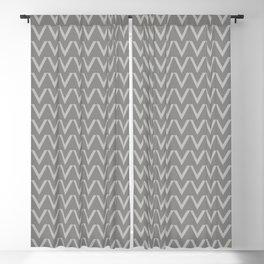 Chevron V Shapes Horizontal Lines Benjamin Moore 2019 Color of the Year Metropolitan Light Gray AF-6 Blackout Curtain