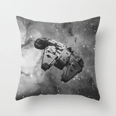 Millennium Falcon Throw Pillow