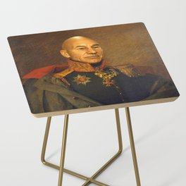 Sir Patrick Stewart - replaceface Side Table