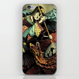 St George and the Dragon iPhone Skin