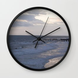 Morning Beach Wall Clock