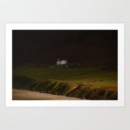 House on the Cliff Art Print