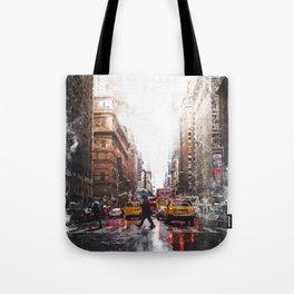 New York Streets Tote Bag