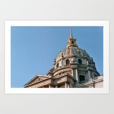Napoleon's Mausoleum 2 - Paris, France Art Print