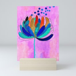 Release - Original Watercolour and Ink Painting from the Garden Mini Art Print