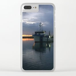 Sunrise over Port Adelaide Clear iPhone Case