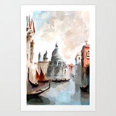 Venice Days Art Print