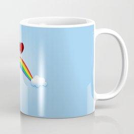 Love on rainbow Coffee Mug