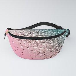Tropical Watermelon Glitter #3 (Faux Glitter) #decor #art #society6 Fanny Pack