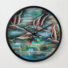 Flight of my Imagination Wall Clock