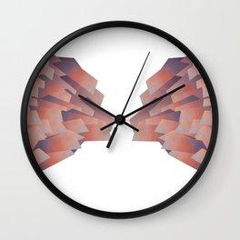 BTS LOGO WINGS Wall Clock