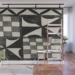 Tapa | Barkcloth | Pacifica | Pasifica | Abstract Patterns | Pacific Islands | Tribal | Ethnic | Wall Mural