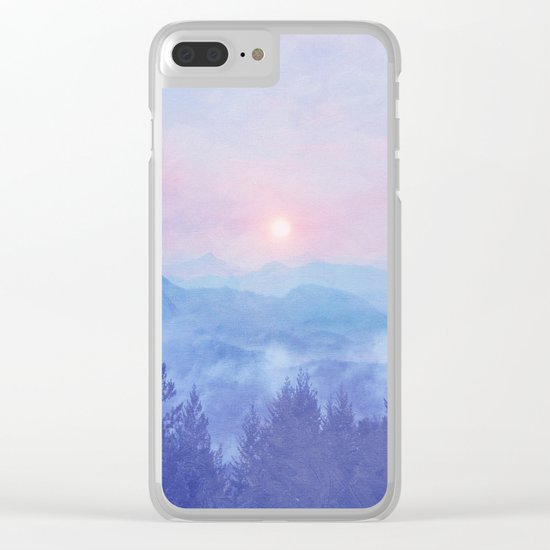 Pastel vibes 12 O-P Clear iPhone Case