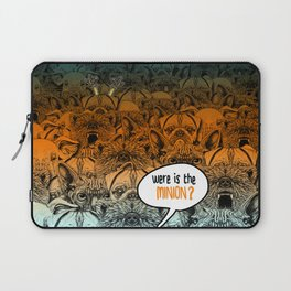Were is the minion ? Laptop Sleeve
