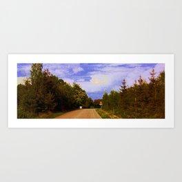 40 Road Art Print