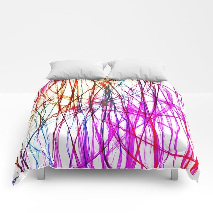 PIXEL RAINBOW Comforters