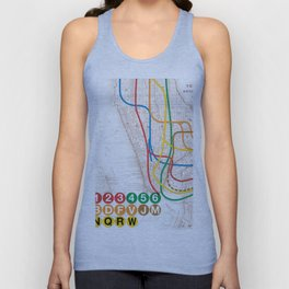 What the Future Awaits for New York I Unisex Tank Top