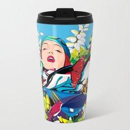 Blossom woman Travel Mug