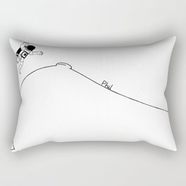 Land Rectangular Pillow
