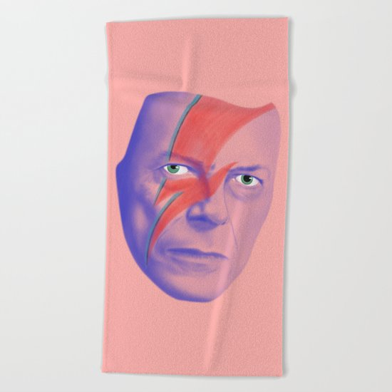 Bowie forever Beach Towel
