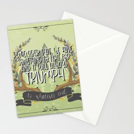 To Whatever End (Kingdom of Ash) Stationery Cards